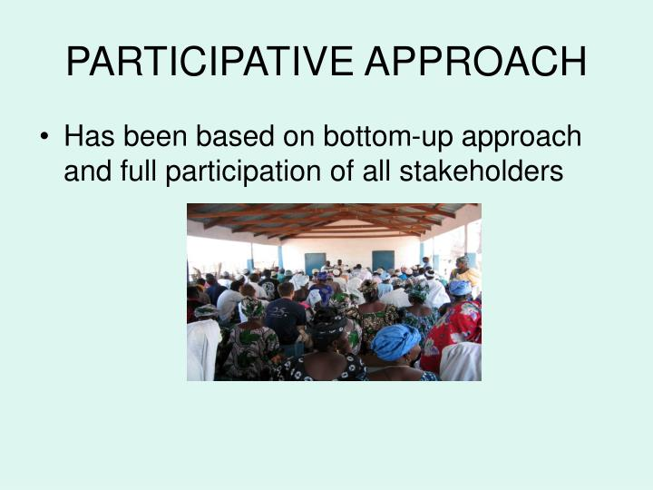 Participative approach l.jpg
