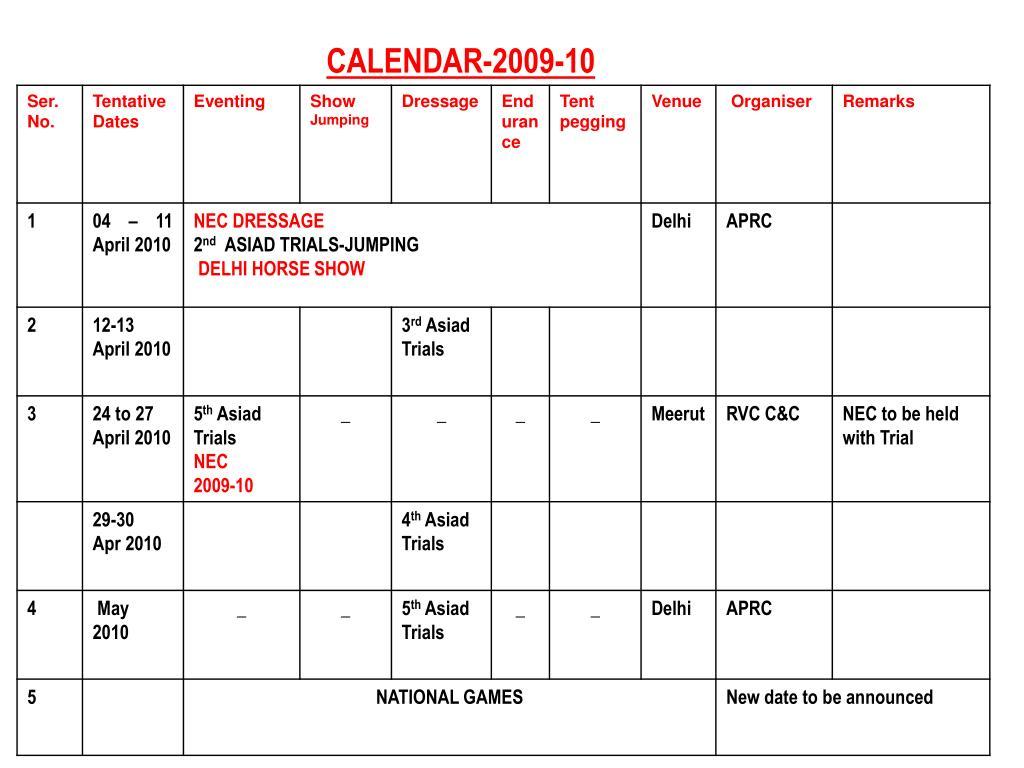 CALENDAR-2009-10