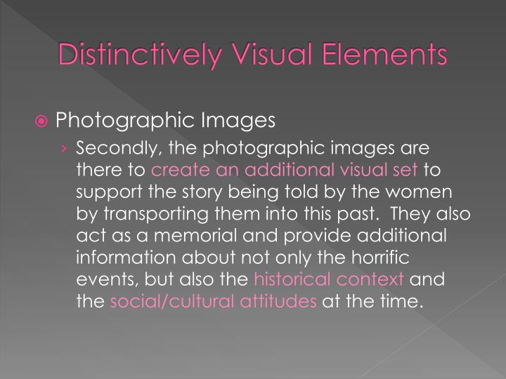 distinctively visual essays