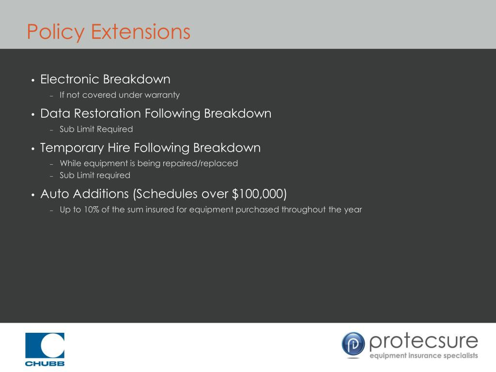 Policy Extensions