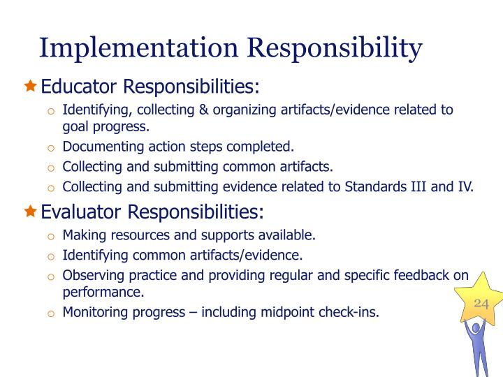 Implementation Responsibility