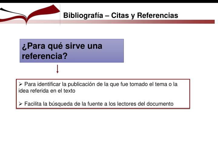 Bibliografía – Citas y Referencias