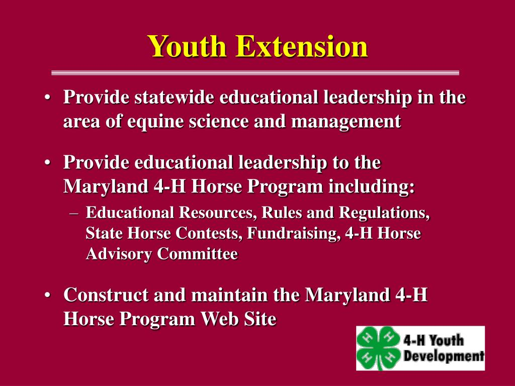 Youth Extension