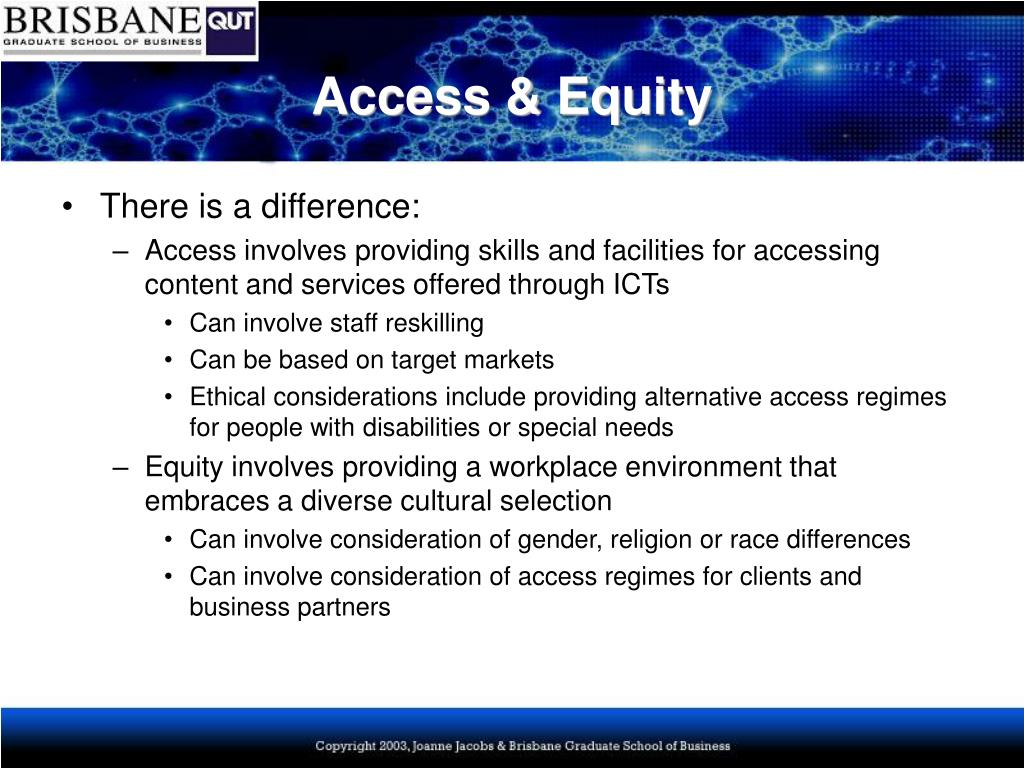Access & Equity