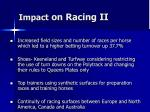 impact on racing ii