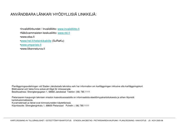 Invalidförbundet / Invalidiliitto: