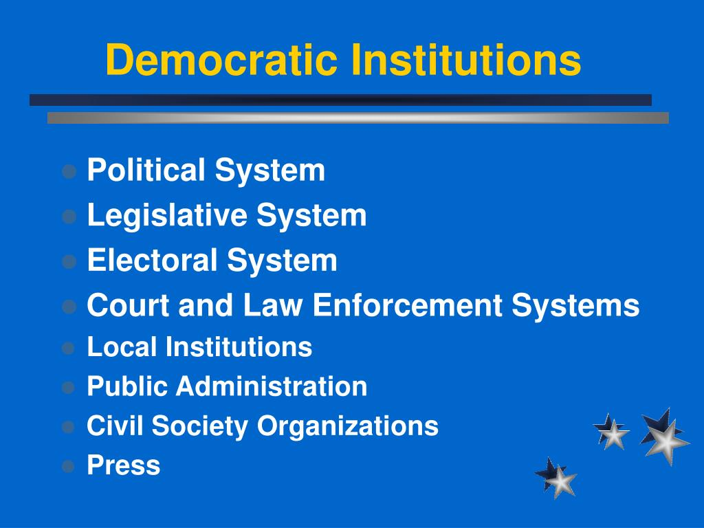 Democratic Institutions