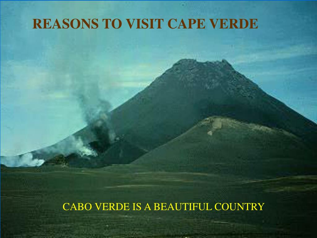 REASONS TO VISIT CAPE VERDE