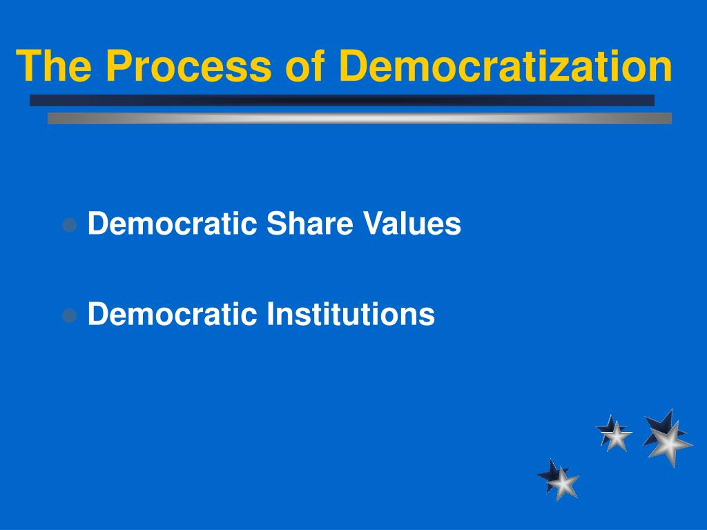 The Process of Democratization