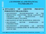 2 economical and financial vulnerability