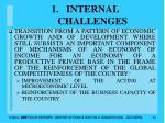 internal challenges
