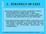 strategy of exit32