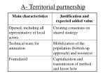a territorial partnership