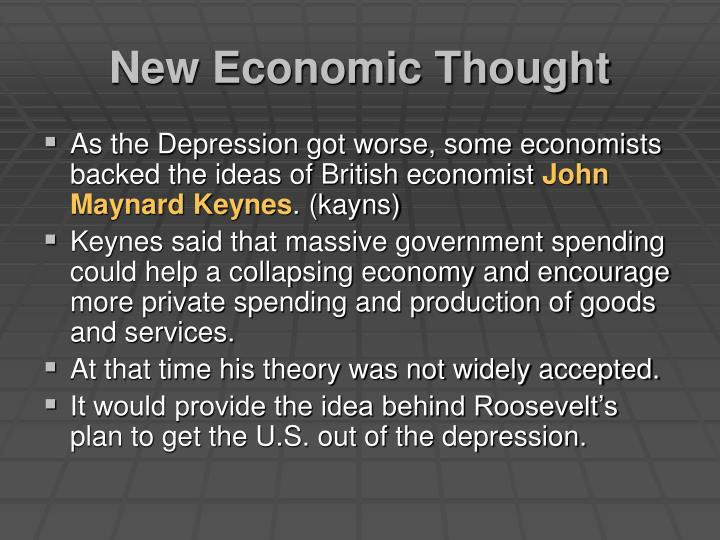 New Economic Thought
