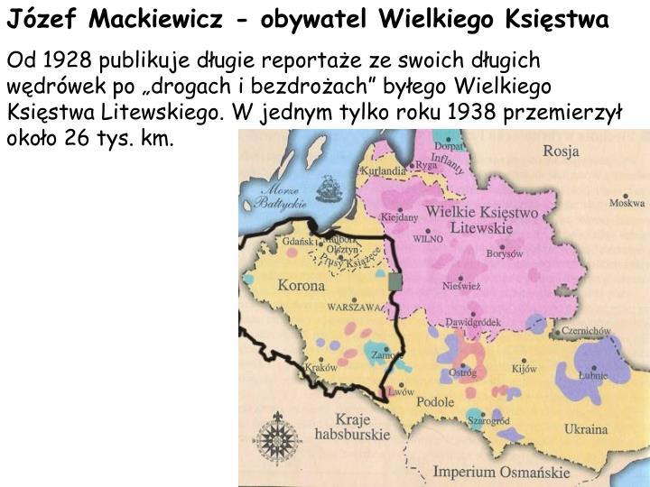 Jzef Mackiewicz - obywatel Wielkiego Ksistwa