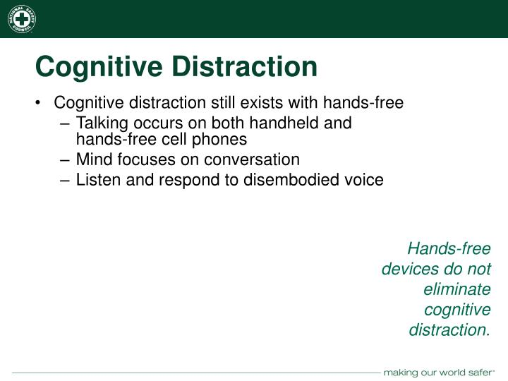 Cognitive Distraction