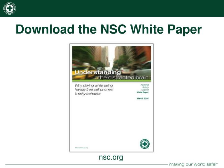 Download the NSC White Paper