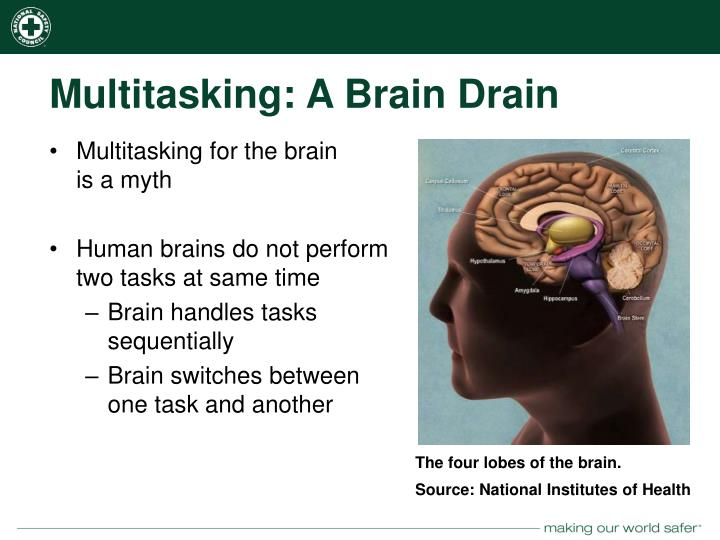 Multitasking: A Brain Drain