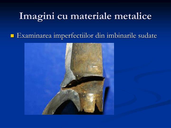 Imagini cu materiale metalice