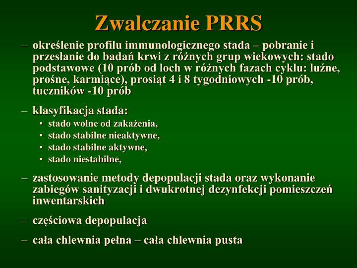 Zwalczanie PRRS