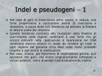 indel e pseudogeni 1