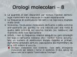 orologi molecolari 8