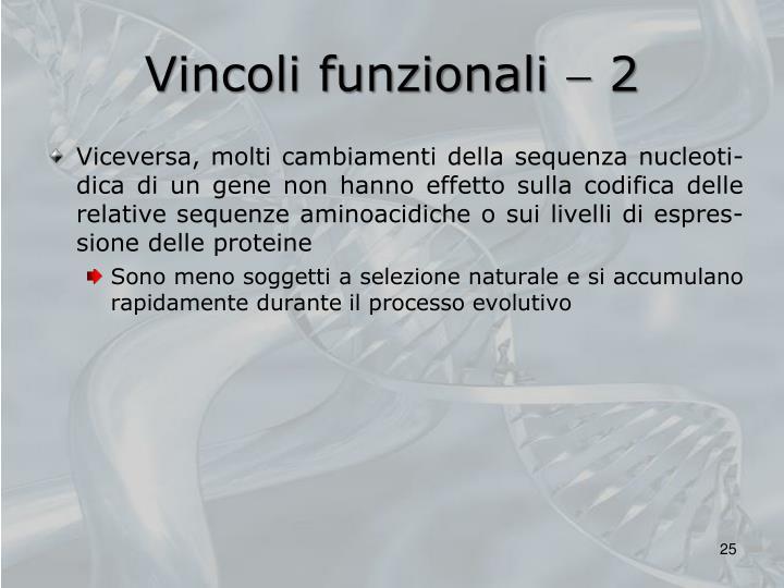 Vincoli funzionali