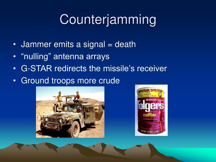 Counterjamming