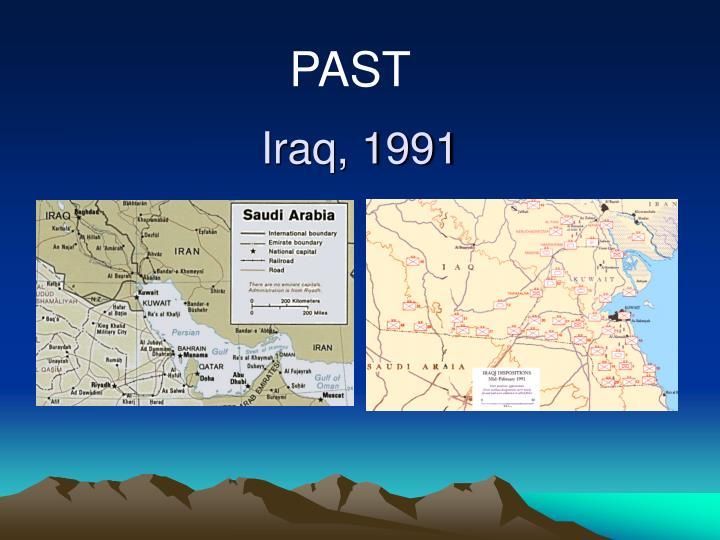 Iraq, 1991
