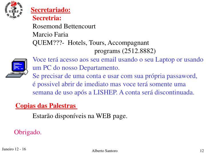 Secretariado: