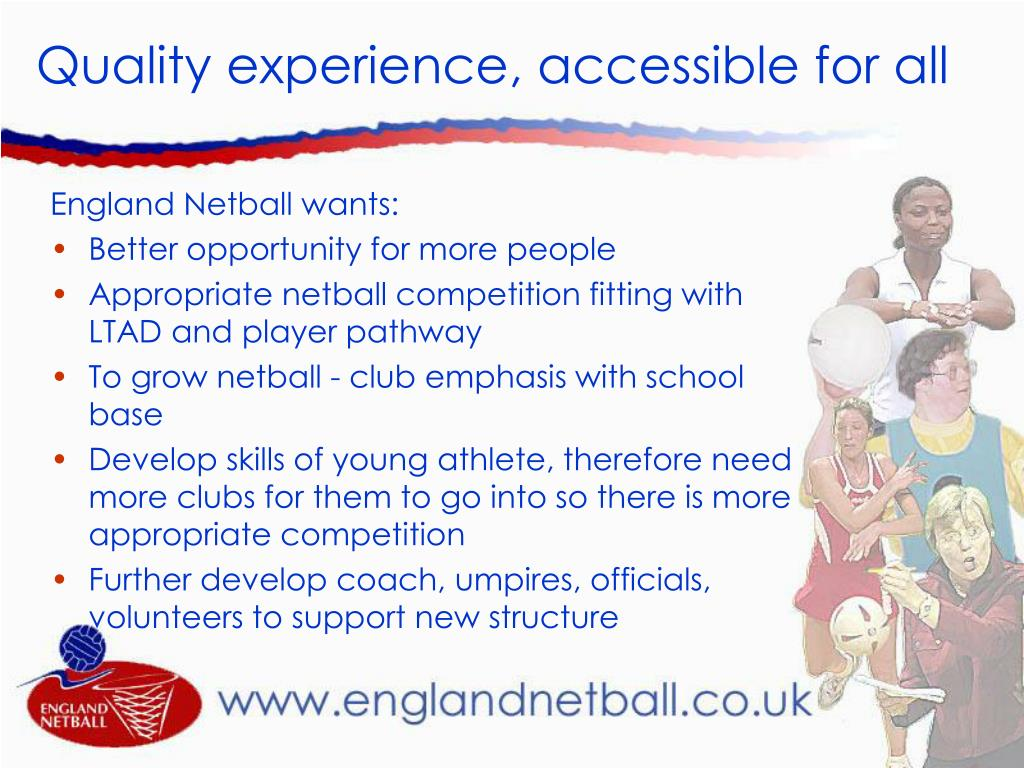 Quality experience, accessible for all