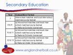 secondary education10