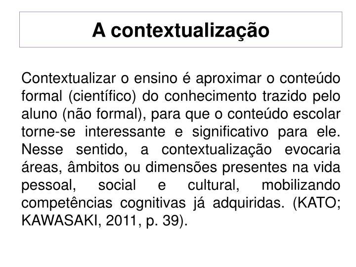 A contextualização