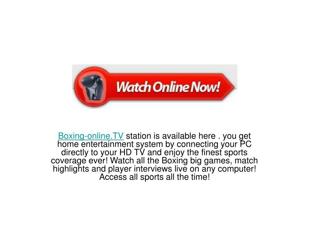 Boxing-online.TV
