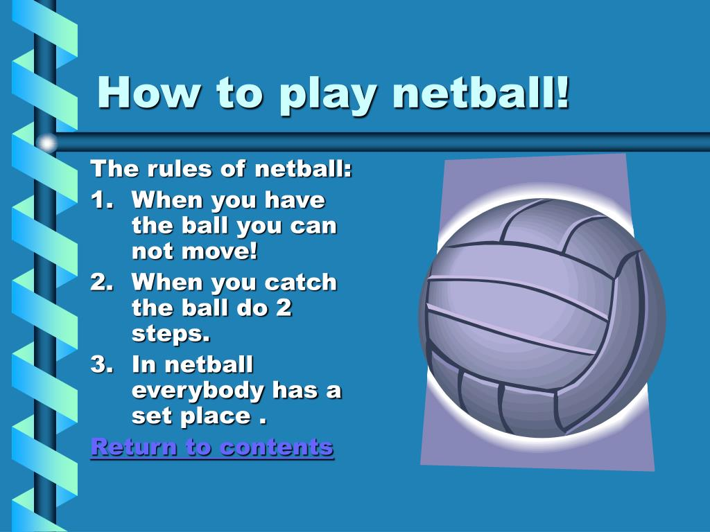 How to play netball!
