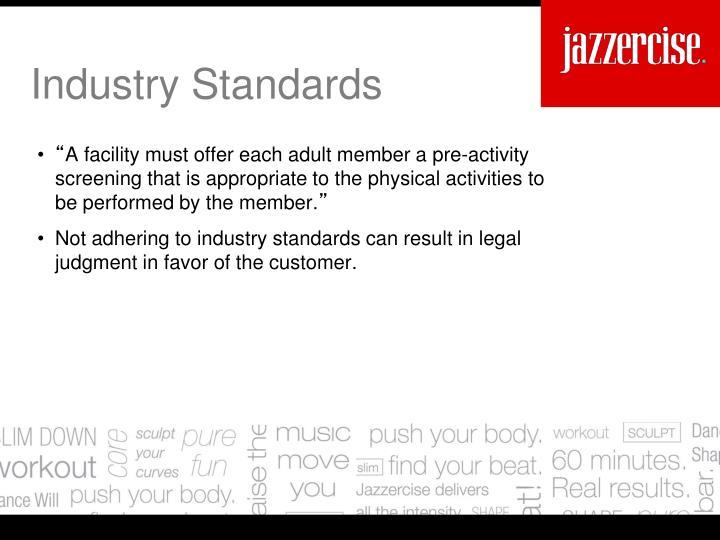 Industry Standards