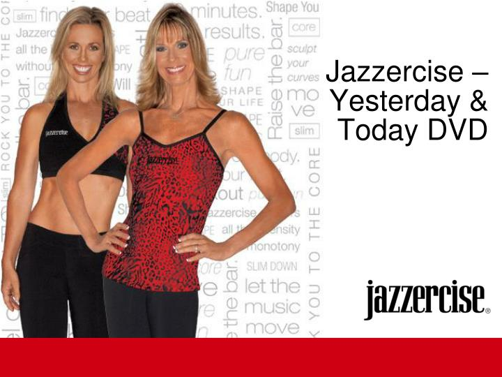 Jazzercise – Yesterday & Today DVD