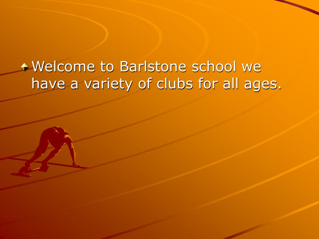 Welcome to Barlstone school we have a variety of clubs for all ages.
