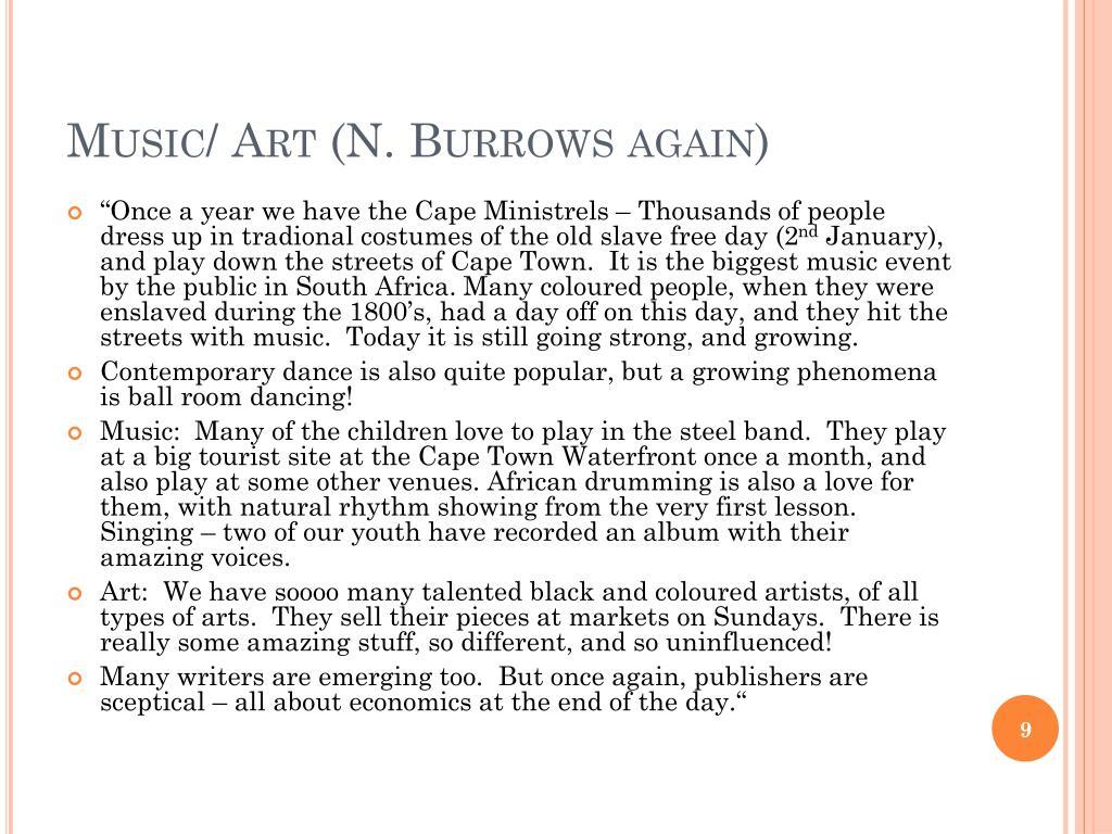 Music/ Art (N.