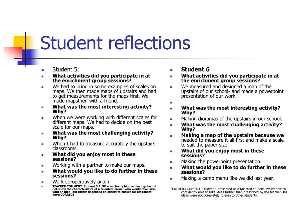 Student 5: