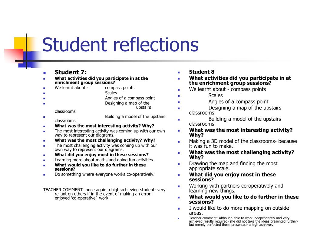 Student 7:
