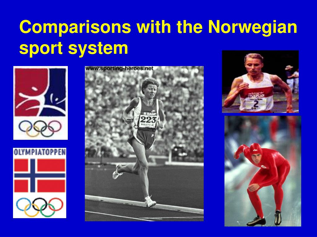 Comparisons with the Norwegian sport system