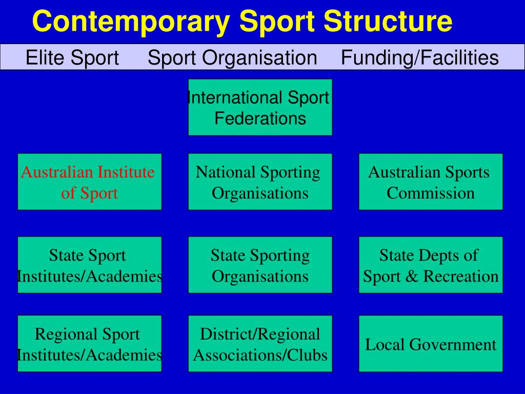Contemporary Sport Structure