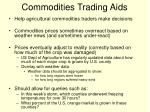 commodities trading aids