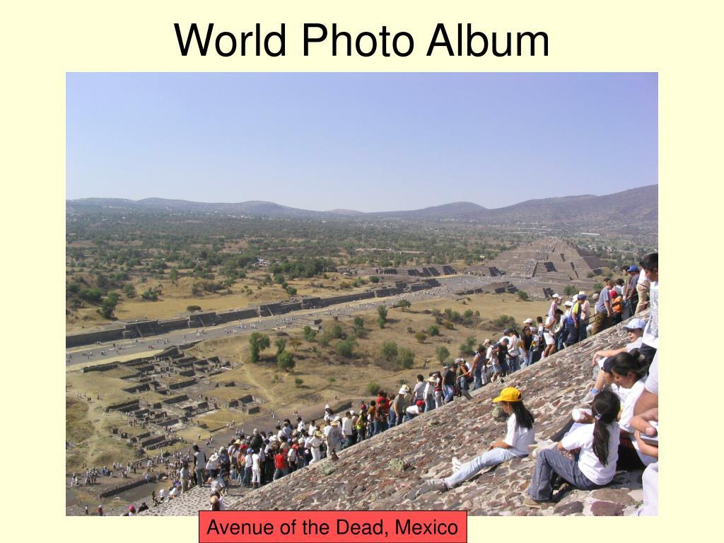 World Photo Album