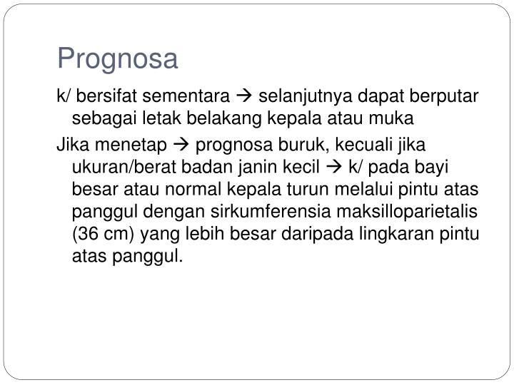 Prognosa