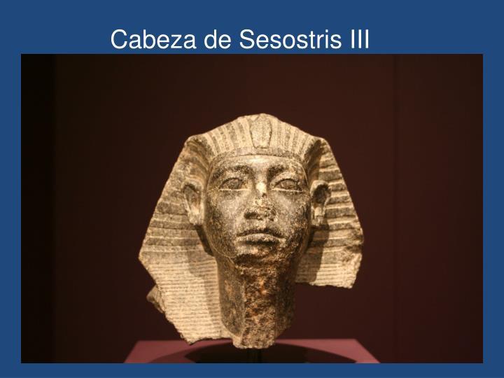 Cabeza de Sesostris III