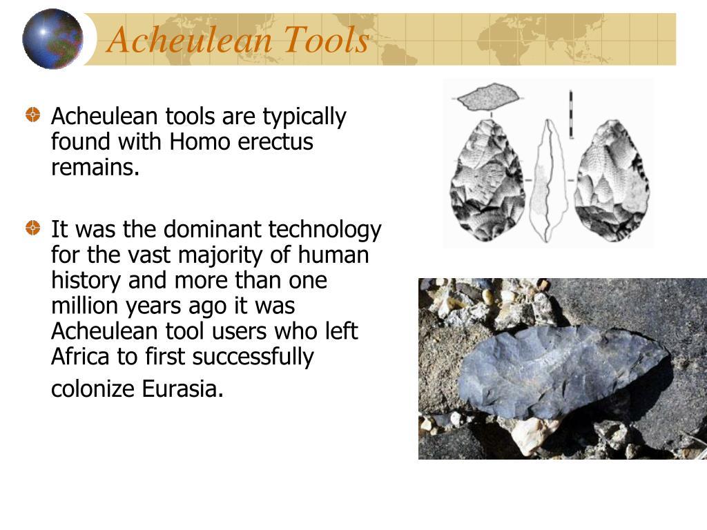 Acheulean Tools
