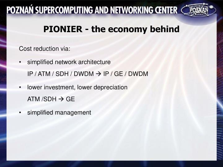 PIONIER - the economy behind