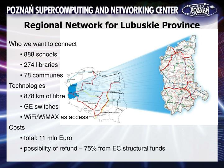 Regional Network for Lubuskie Province